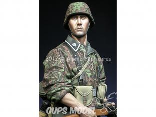 Alpine figurine 16016 Totenkopf Grenadier 1/16