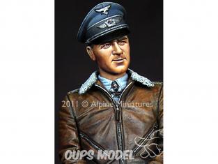 Alpine figurine 16014 uftwaffe Ace Werner Moldders 1/16