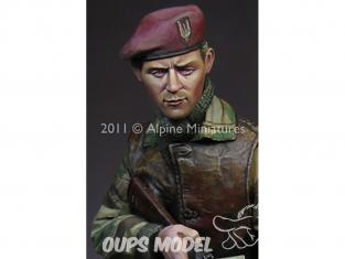 Alpine figurine 16013 WW2 British S.A.S. Commando 1/16