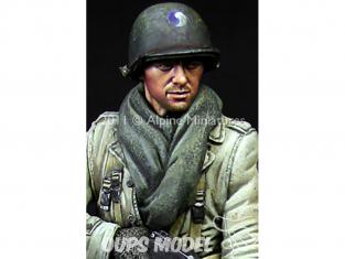 Alpine figurine 16012 BAR Gunner US 29th Infantry Division1/16