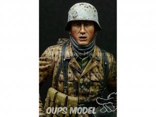 """Alpine figurine 16011 Grenadier """"Kampfgruppe Hansen"""" 1/16"""