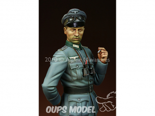 Alpine figurine 16009 Officier d'infanterie allemand 1/16