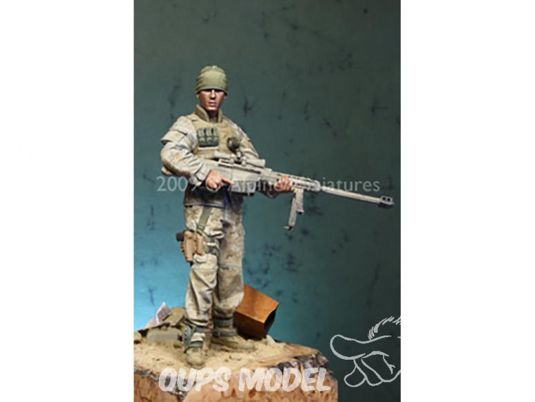 Alpine figurine 16008 Sniper USMC moderne 1/16