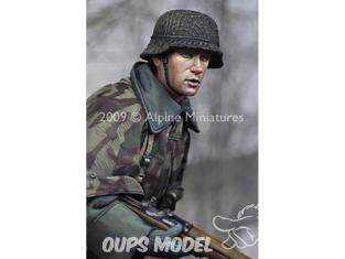 Alpine figurine 16007 Un jeune grenadier allemand 1/16