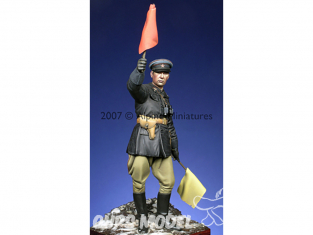 Alpine figurine 16002 Officier russe WW2 1/16