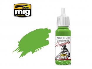 MIG peinture figurine F-528 Vert pur 17ml