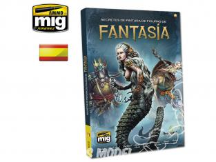 MIG magazine 6126 Secrets de peinture des figurines fantastiques en langue Castellane
