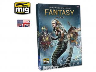 MIG librairie 6125 Secrets de peinture des figurines fantastiques en Anglais