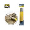 MIG outillage 7606 Set de pinceaux en caoutchouc