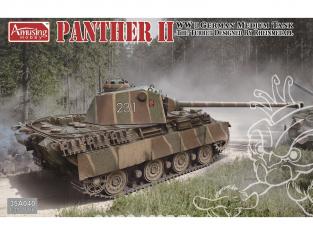 Amusing maquette militaire 35A040 PANTHER II TOURELLE RHEINMETALL 1/35
