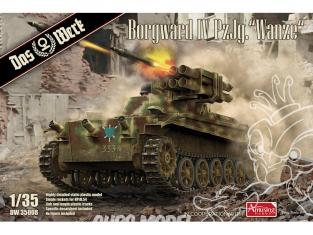 DAS WERK maquette militaire DW35008 Borgward IV Panzerjäger Wanze 1/35