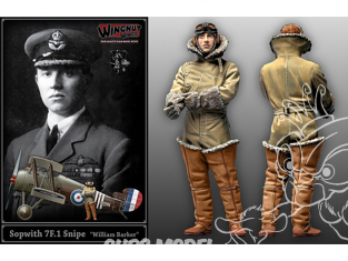 "Wingnut Wings maquette avion 32608 Sopwith 7F.1 Snipe ""William Barker"" 1/32"