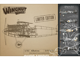 Wingnut Wings maquette avion 32902 Albatros D.V 'The Bavarians' Limited Edition 1/32