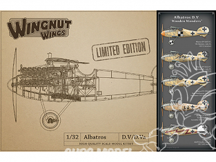 Wingnut Wings maquette avion 32903 Albatros D.V 'Wooden Wonders' Limited Edition 1/32