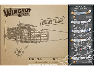 Wingnut Wings maquette avion 32909 Pfalz D.IIIa 'Flying Circus part 1' Limited Edition 1/32