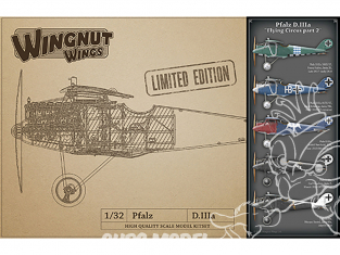 Wingnut Wings maquette avion 32910 Pfalz D.IIIa 'Flying Circus part 2' Limited Edition 1/32