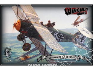 Wingnut Wings maquette avion 32079 Hannover Cl.II (Early) 1/32