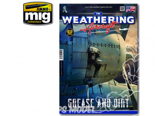 MIG Weathering Aircraft 5215 Numero 15 Grease and dirt en Anglais