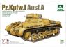 Takom maquette militaire 1008 Pz.Kpfw.I Ausf.A 1/16