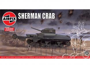 Airfix maquette militaire A02320V Sherman Crab 1/76