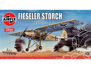 Airfix maquette avion A01047V Fiesler Storch 1/72