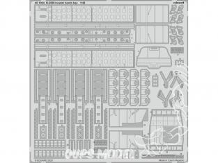 EDUARD photodecoupe avion 481004 Baie de bombe B-26B-50 Invader Icm 1/48