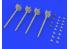Eduard kit d'amelioration brassin 632141 Armement AIM-9M/L Sidewinder 1/32