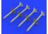 Eduard kit d'amelioration brassin 632142 Armement AIM-7 Sparrow 1/32