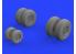 Eduard kit d'amelioration brassin 672230 Roues Shackleton MR.3 Revell 1/72