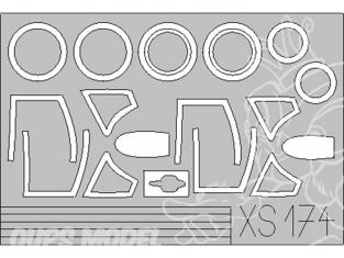 Eduard Express Mask XS174 Mig21 Smt 1/72