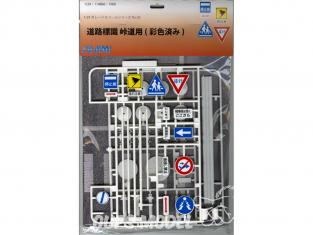 fujimi maquette voiture 114866 Panneaux routiers Japonais 1/24