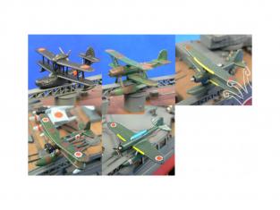 Aoshima maquette avion 49976 Hydravions Japonais 1/350