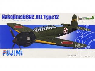 Fujimi maquette avion 144214 Nakajima B6N2 Jill Type 12 1/144
