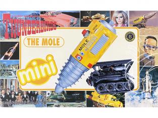 Aoshima maquette 08393 Thunderbirds mini The Mole