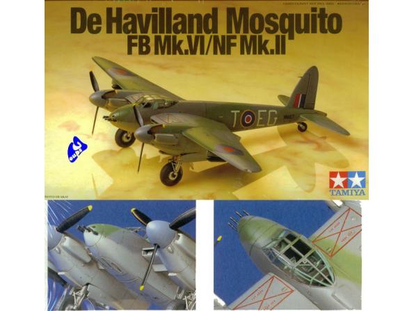tamiya maquette avion 60747 mosquito 1/72