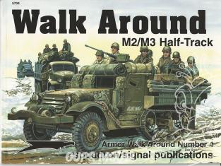 Librairie Squadron 5704 M2/M3 Half-Track