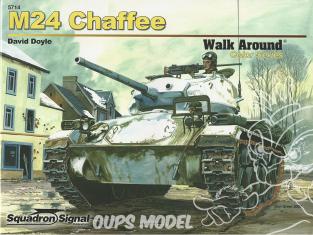 Librairie Squadron 5714 M24 Chaffee