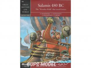 Librairie Squadron 7004 Salamis 480 BC les murs en bois qui ont sauvé la grèce