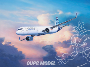 Revell maquette avion 64952 Model set Airbus A321 Neo 1/144
