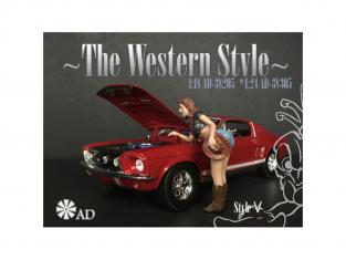 American Diorama figurine AD-38305 The Western Style V 1/24