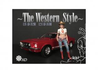 American Diorama figurine AD-38301 The Western Style I 1/24