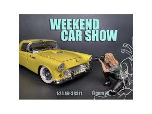American Diorama figurine AD-38311 Weekend Car Show III 1/24