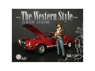 American Diorama figurine AD-38308 The Western Style VIII 1/24