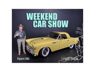 American Diorama figurine AD-38316 Weekend Car Show VIII 1/24