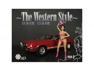 American Diorama figurine AD-38302 The Western Style II 1/24