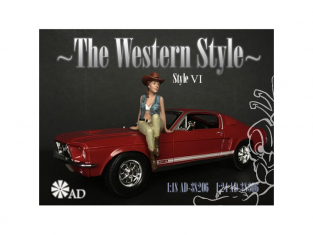 American Diorama figurine AD-38306 The Western Style VI 1/24
