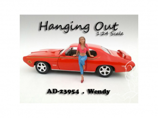 American Diorama figurine AD-23954 Hanging out - Wendy 1/24