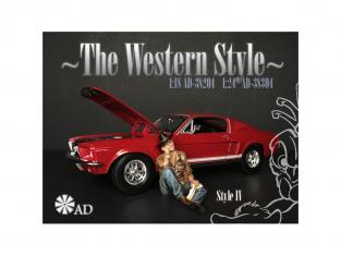 American Diorama figurine AD-38304 The Western Style IV 1/24