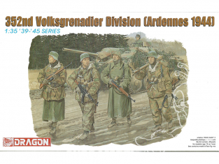 dragon maquette militaire 6115 Volksgrenadiers Ardennes 1944 1/35