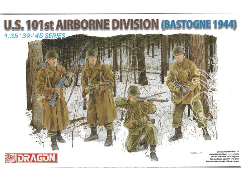 dragon maquette militaire 6163 US 101st Airborne Bastogne 1944 1/35